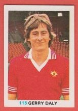 Manchester United Gerry Daly Eire 115